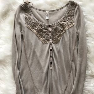 Free people tank flowy thermal